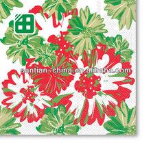 flower color printed paper napkin Dinner Napkin