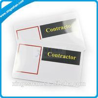 ISO 14443 PVC Blank 1k s50 pvc card