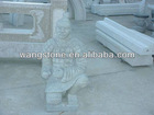 Soldier stone carvings and sculptures