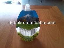 200ml fruit juice pouches with screw cap