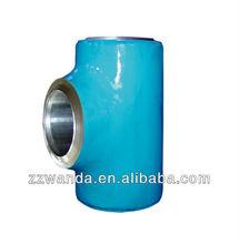 Hot Sale!!! High Quality ANSI B16.9 CS ASTM A234WPB STRAIGHT TEES