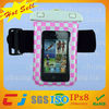 factory price pvc mobile phone bag waterproof underwater with armband
