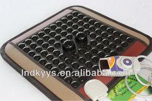 korea happy medical similar germanium stone health heating seat cushion 45*45cm CE APPROVED