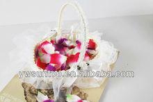 Wedding flower wicker basket decoration gifts