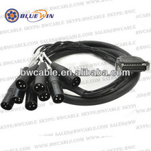 DB25 to 8 Channel XLR D-Sub Cable