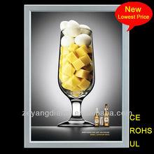 New Bar/supermarket/mall advertising led light box alibaba fr