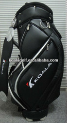 2013 Black golf caddie bag for men,golf bags with your own brand logo