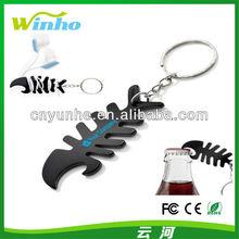 Custom Fish Bone Keyring & Cable Holder ---Popular in Mexico