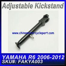 Custom Motorcycle Kickstands For YAMAHA R6 2006 2007 2008 2009 2010 2011 2012 Black