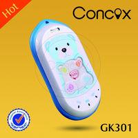 Cute kids safety tracker GK301 cell phone for girls