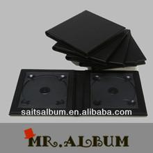 Plain cover single CD case to 6 CD DVD case
