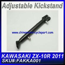 Aftermarket Kickstands Motorcycles For KAWASAKI ZX10R 2011 Black