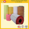 Machine Truck auto cabin filter pleated supplier engine Wood Pulp Air Filter Paper