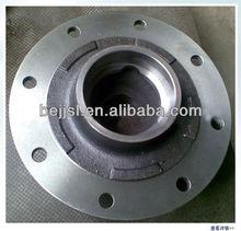 Zinc die casting CNC machining Hub type flange