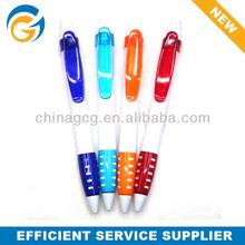 2 Color White Barrel Advertising Ball Pen