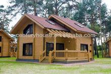 light steel structure villa,wooden villa
