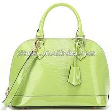 2014 Newly Fashion green tote bag for girls/Genuine Leather Handbags/Women Shoulder bag Wholesale Guangzhou W13602#