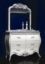Dresser /bedroom furniture /silver furniture