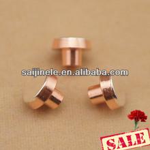 Utilizzato per 6 perni interruttori a bilanciere agcdo/Agni/agcu elettrica argento rame ribattino bimetallico