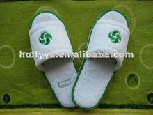 2014 hot sale velour pedicure fancy slipper for adult