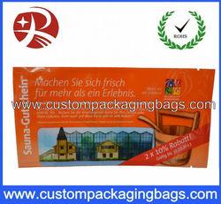 printing disposable wet wipe packaging bag