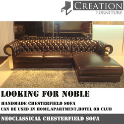 Classical Chesterfield Sofa/Neoclassical sofa/leather sofa