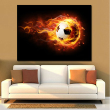 2014World Cup Football Photo Canvas Prints