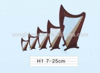 H1 mini harpa, mini harpa, harpa, mini modelo de guitarra, escala modelo de guitarra, presentes de aniversário, presentes, ornamentos, instrumentos musicais, souvenir