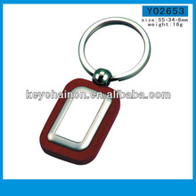 Yingmei Y02653 Useful Blank Creative Wood Keyrings for Promotion