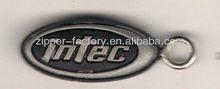 custom PVC zipper puller tab for garments