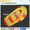 Inflables de pvc zapatillas/de playa inflables colchón de aire