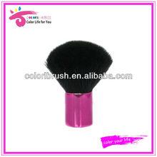 private label black vegan hair makeup kabuki brush beauty needs