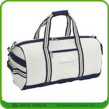 Cotton Canvas travel bag sport duffel bag