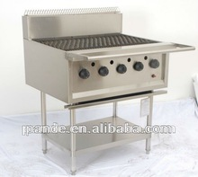 Stainless Steel Professional Gas Barbecue Grill Round Barbecue Gas Grill