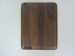 100% Real Natural Handmad Bamboo Wood Wooden Skin Case wood Cover hybrid for Ipad 2 3 4