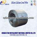 las propiedades químicas de silicio de calcio alambre tubular