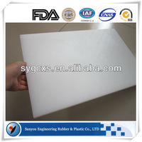 customed PE polyethylene large plastic cutting board hdpe board uhmwpe cutting board for meat processing