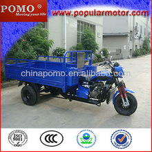 2013 Chinese Hot Best Selling Water Cool Gasoline Motorized 250cc Cargo Three Wheel Motorcycle
