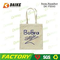 Eco Fashionable Cotton Tote Bag DK-FS043