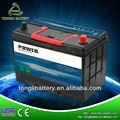 pilas y baterías de energía estándar de jis 95d31 80ah de la batería