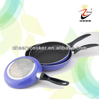 Non-stick coating bottom no oil fry pan