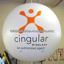 custom big inflatable round balloon/helium balloon