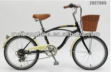 """20"""" China beach bicycle/city bike with rear derailleur(20CT006)"""