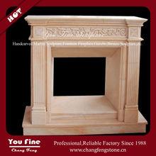 Marble Indoor Beautiful Fireplace Insert