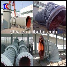 Professional manufacturer EAF/ LF furnace flue for steelworks