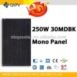 250w monocrystalline solar panel pv module with TUV IEC CE UL ISO MCS