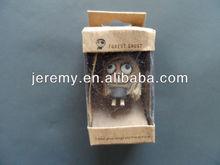cute Environment Wood Voodoo Doll key chain
