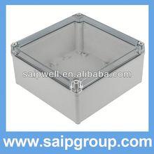 IP65 abs/pc box din rail plastic enclosure DS-AT-2020-S(200*200*95)
