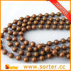 metal ball chain as room divider, screen, partition