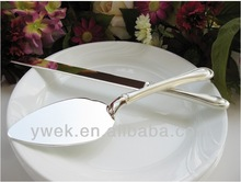 2013 Hot Selling New Style Wedding Cake Server Set with Crystalset wedding gifts in home & garden
